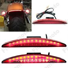 Red Drag Specialties Red Fender Tip LED Tail Light For Harley Breakout 2013-2017