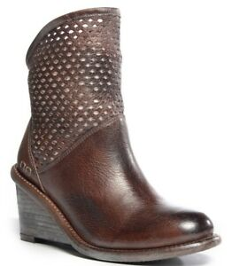 2c375ee60de Image is loading Bed-Stu-Womens-Dutchess-Boot-Leather-Wedge-Bootie-