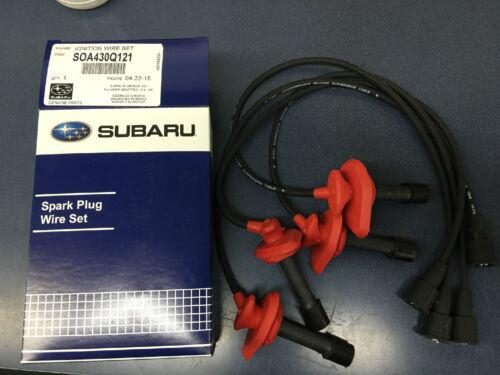 1997-1998 Forester Legacy Outback OEM Subaru Spark Plug Wire Set SOA430Q121