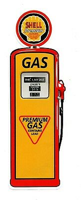"SHELL /""PETROL BOWSER PUMP/"" VINYL DECAL STICKER PROMO OILS GAS Ford Holden VW"