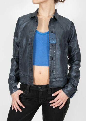 Bleulab Junction Jeans Jacket Resin Blue Metallic Coating Indigo Reversible