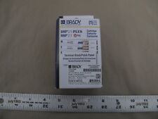 1 New Brady Label Cartridge M21 375 499 Tb Terminal Blockpatch Panel Bmp21