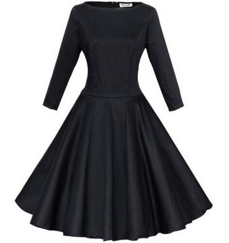 bc249 Hepburn 50s rockabilly swing robe de cocktail robe de soirée vintage immédiatement L