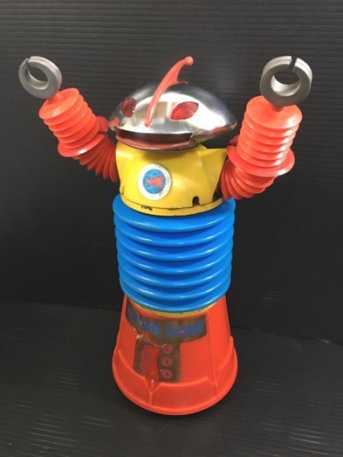 【AS-IS】Yonezawa Toy KROME DOME Electric Robot Vintage Toy