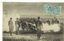 1904-CPA-MILITARIA/ECOLE DU FEU-CANON DE 90*CORRESP.MILITAIRE*CARTE POSTALE