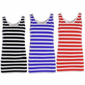Red-And-White-Striped-Vest-Top-Womens-Ladies-Stripy-Tops-Fancy-Dress-Book-Week