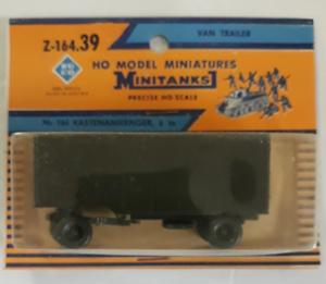 ROCO Minitanks VAN TRAILER in HO 1/87 164