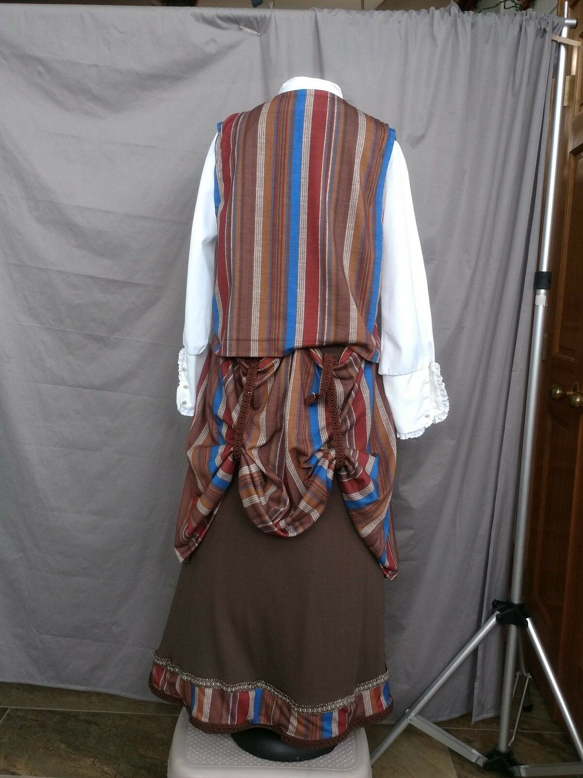 Victorian Dress Edwardian Costume Civil War Style… - image 5