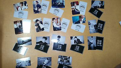 BTS Bangtan PHOTO CARD ((3)) - IN THE MOOD FOR LOVE - Daydream + SCHOOL LUV AFF
