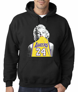 pretty nice 80328 0af71 New Way 412 - Hoodie Marilyn Monroe Lakers 24 Kobe Bryant ...