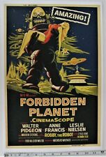 Forbidden Planet 24x36inch 1956 Old Classic Horror Movie Silk Poster