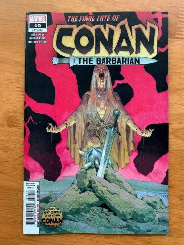 Conan the Barbarian 10 2019 Ribic Main Cover A 1st Print DEATH OF CONAN  NM