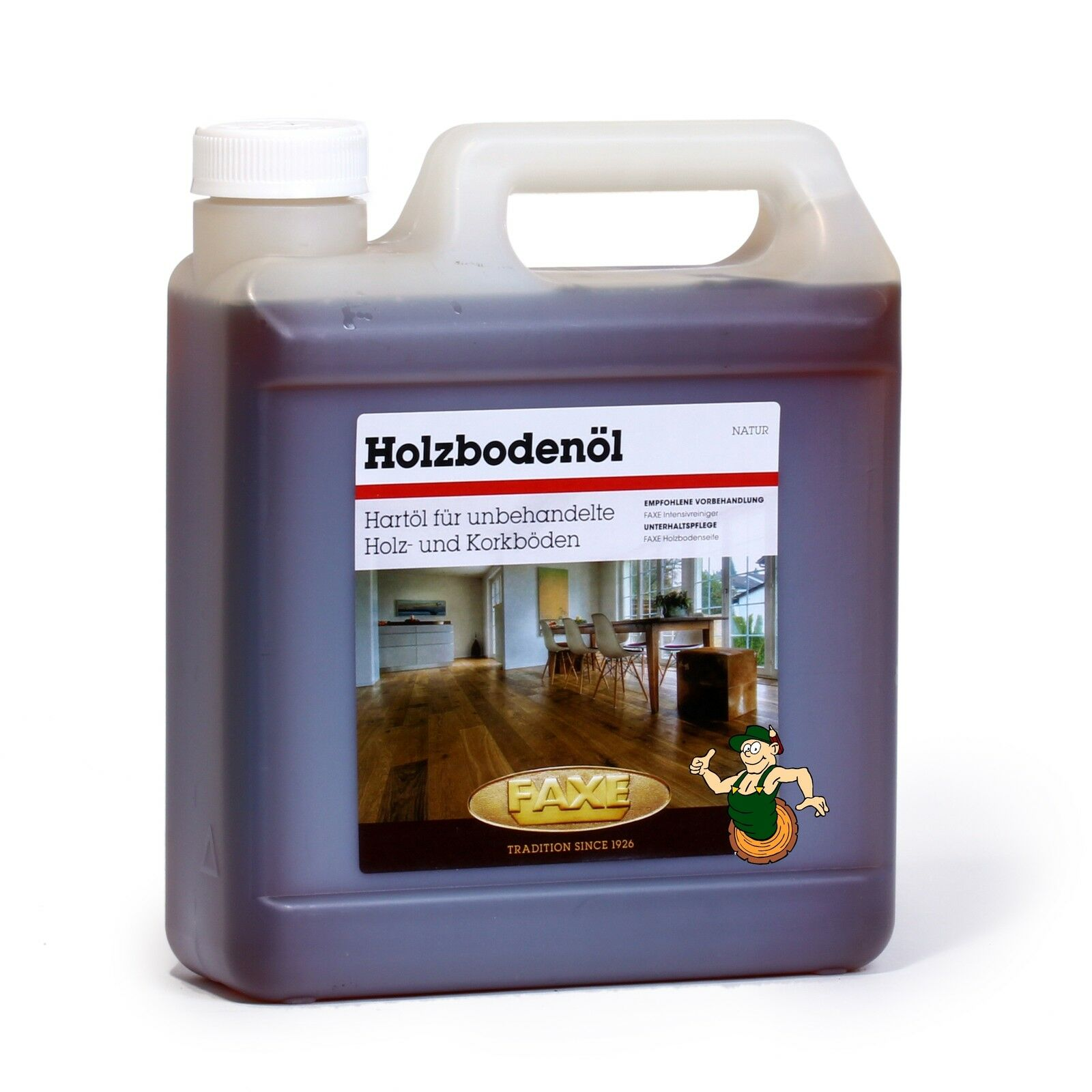 FAXE Holzbodenöl natur 2,5 Liter
