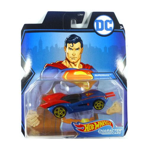 Character Cars Maßstab 1:64 Modellauto NEU!° Hot Wheels GJH91-96 Superman Car