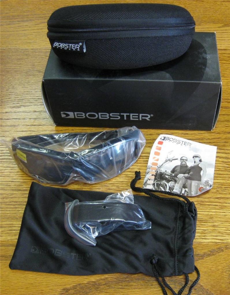 BZOE601 Bobster ZOE Sunglasses Goggles Congreenible Anti-Fog Lenses Hard Case NEW