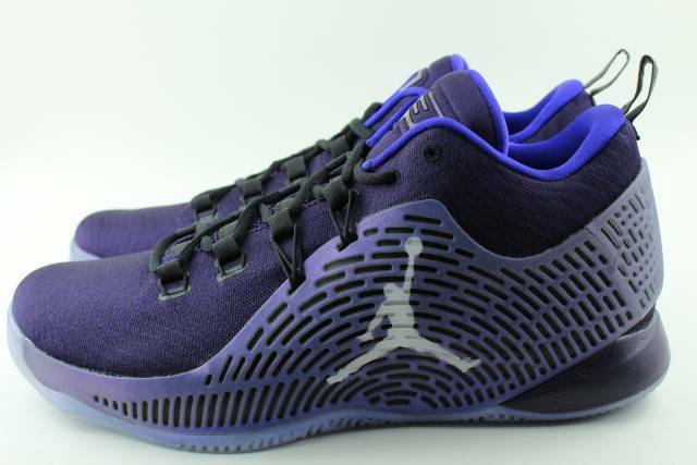 4c27d4cf4c3c95 Mens Air Jordan Cp3.x Purple Dynasty Metallic Silver Black 854294-505 US 11  for sale online
