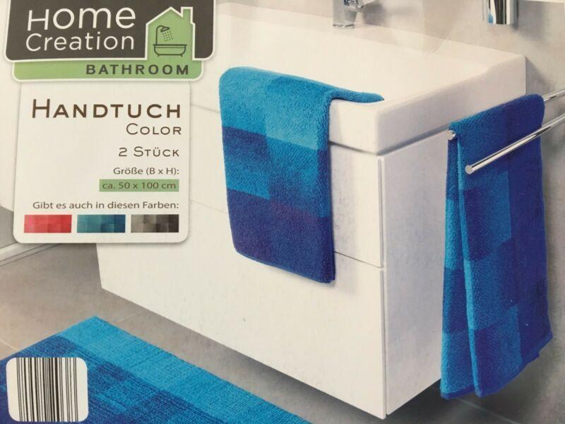 2er Gästetücher Handtücher Duschtücher Badetücher 100% Baumwolle
