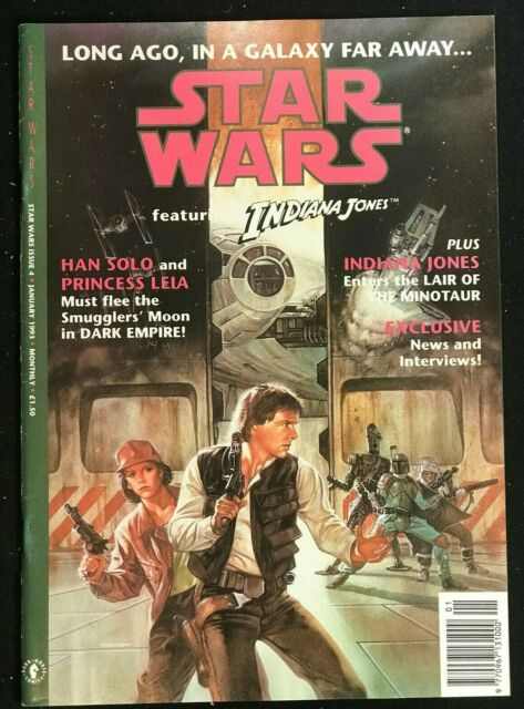 STAR WARS COMICS w Indiana Jones - 1992 Series - Issues 4 & 6 - Dark Horse