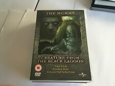 The Mummy Creature from the Black Lagoon DVD 2 DISC 5050582312379