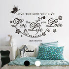 Vinyl Home Room Decor Art Wall Decal Stickers Bedroom Kitchen Removable Mural