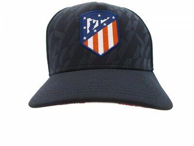 Affidabile Cappello Atletico Madrid Visiera Baseball Originale Ufficiale Atm Adulto 58 Blu