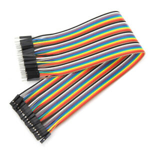 40pcs-30cm-Male-To-Female-Cable-Jumper-Dupont-Wire-For-Arduino