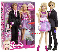 Barbie Stepping Out Prom Date Night Ken and Barbie 2 doll set X4878 NEW