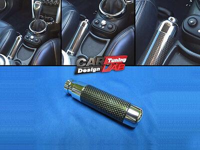 1 Carbon Fiber Hand Emergency Brake Cover for 2001-2013 S R50 R52 R53 R56