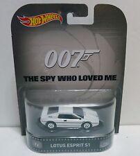 Hot Wheels 007 Lotus Esprit S 1-1:64 Diecast Movie Car