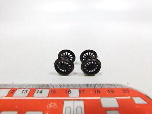 CL253-0-5-2x-Roco-H0-Dc-90558-Roues-Avec-Dentee-Sans-Bague-Adhesive-Mint