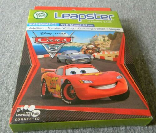 LeapFrog Leapster Learning Game Disney Pixar Cars 2 Mathematics New