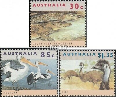 Never Hinged 1994 Affec Australia 1394y-1396y complete.issue. Unmounted Mint