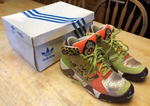 RARE-Mens-Adidas-Jeremy-Scott-JS-Streetball-Shoes-G50727-Size-10-WITH-Box