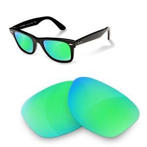 Per Ricambio 50 Ban 2140 Sapphire Ray Polarized Sure Lenti Di Green TqWtgg