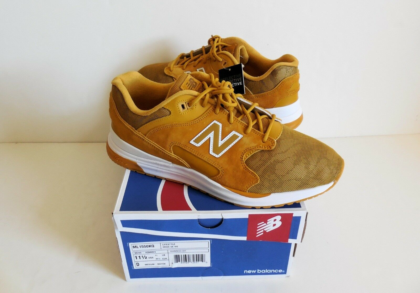 New Balance ML1550KQ REVlite Reflctive Men's Lifestyle shoes 11.5D New