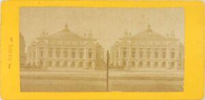 Francia Parigi Opera Garnier, Foto Stereo Vintage Albumina PL60OYL1n2