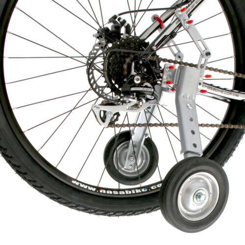 """Réglable Adultes et Enfants Vélo Formation Roues Convient 24/"""" à 28/"""""""