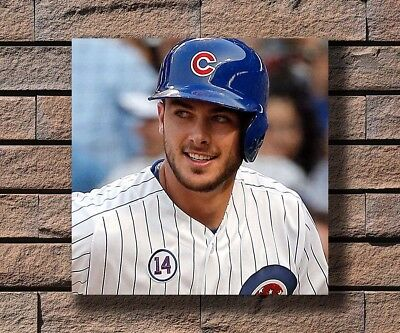 Y418 Kris Bryant Baseball Player Hot Fabric Poster 16x16 24x24