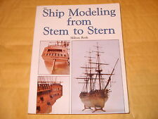 Ship Modeling From Stem To Stern By Milton Roth - 1988 - As Photo