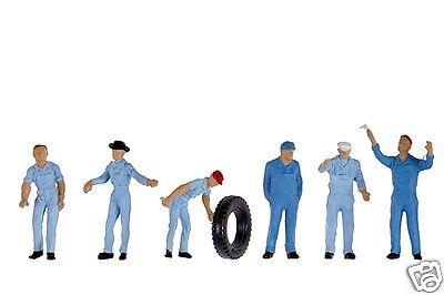 Preiser 14130 Mechaniker 6 Figuren H0 Monteure AMAIZING DETAIL HO 1:87