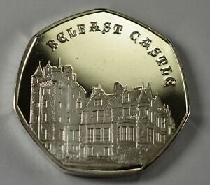 BELFAST CASTLE Silver Commemorative Coin Albums/50p Collectors NEW 2019 SERIES