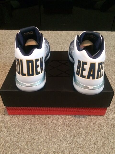 Nike Air Jordan 31 XXXI Low Cal California Golden Bears 897564-118 Mens Size 13