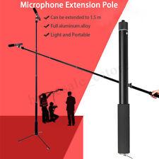 Micro Boom Pole Microphone Mic Holder 5 Section Boompole