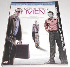 NEW! MATCHSTICK MEN FULL FRAME NICOLAS CAGE ALISON LOHMAN DVD SNAP CASE