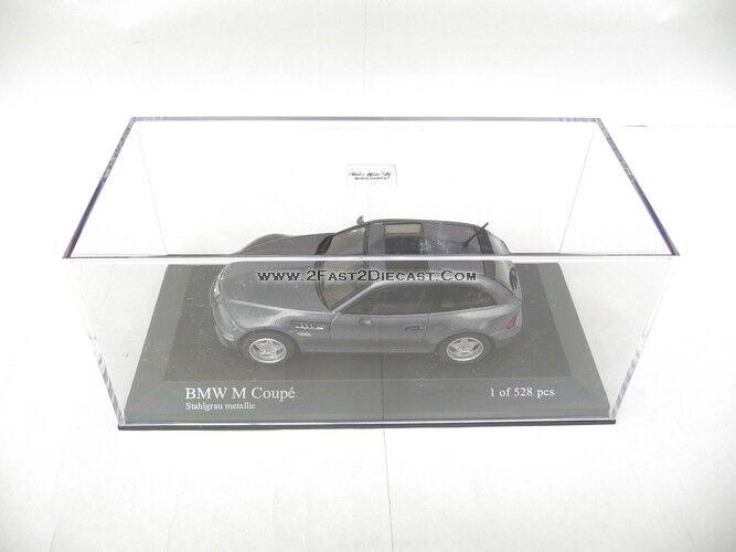 Minichamps 1 18 BMW M Coupe 2002 grigio Metálico 029064