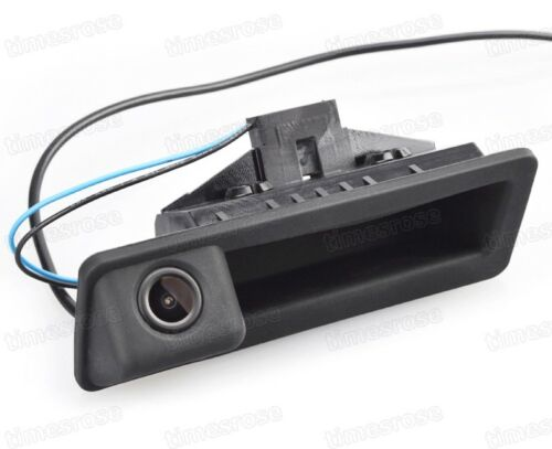 Car Trunk Handle w// CCD Rear View Backup Camera for BMW X5 2007-2013 E70 E71
