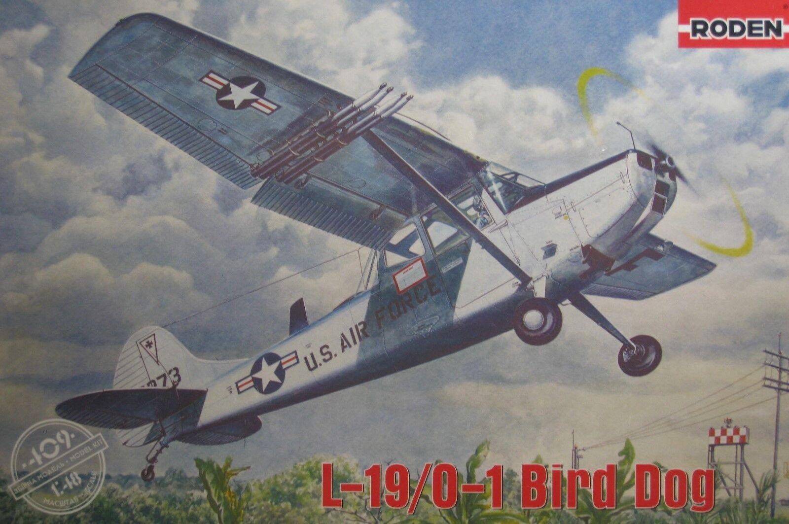 1  48 Cessna L -19   O -1 Bird Dog modelllllerler Kit av Roden