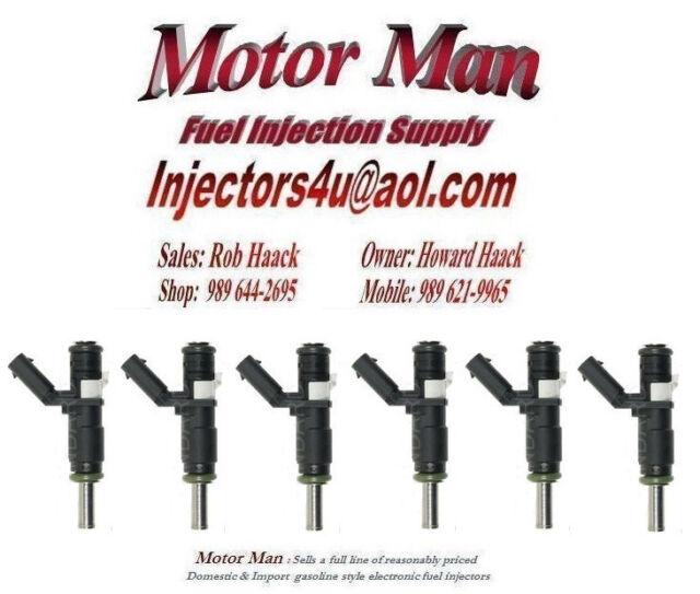 Reman Siemens Fuel Injector Set 6 Motor Man 2720780249 Mercedes 3.0L 2.5L V6
