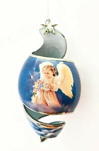 Starlight Blessings 2001 Heirloom Porcelain Angel Ornament Traveler in the Dark
