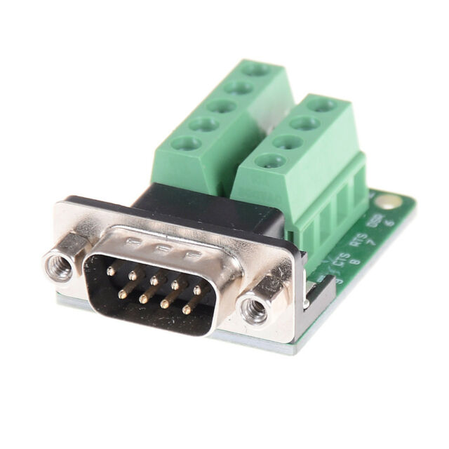Rs232 to Db9 D Sub Male Connector 9-pin Adapter Signal Terminal Board Module